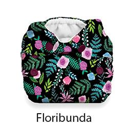 Thirsties Natural Newborn Snap Floribunda