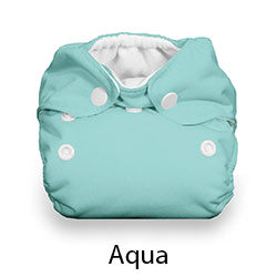 Natural Newborn Snap Aqua