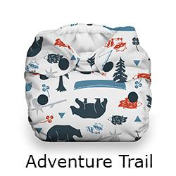 Thirsties Natural Newborn Snap Adventure Trail