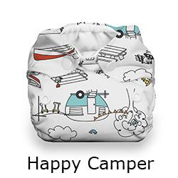 Thirsties Natural Newborn Snap Happy Camper