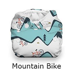 Thirsties Natural Newborn Snap Mountain Bike