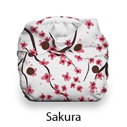 Thirsties Natural Newborn Snap Sakura