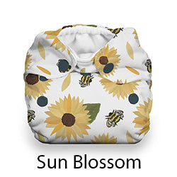 Thirsties Natural Newborn all in one sun blossom