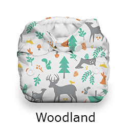 Thirsties Natural Newborn all in one woodland deer