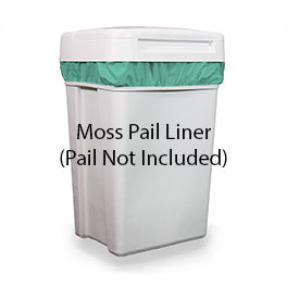 Thirsties diapers pail liner moss green