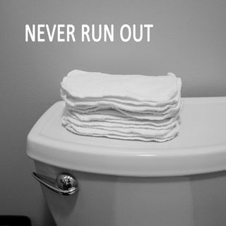 reusable baby wipes toilet paper alternative