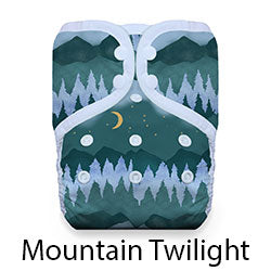 Stay Dry Pocket Snaps Mountain Twilight