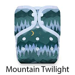 One Size Pocket Mountain Twilight