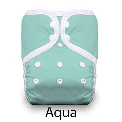 Pocket Diaper Snaps Aqua