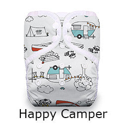 thirsties pocket diaper happy camper