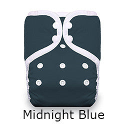 Thirsties pocket diaper midnight blue