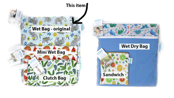 Thirsties wet bag sizes