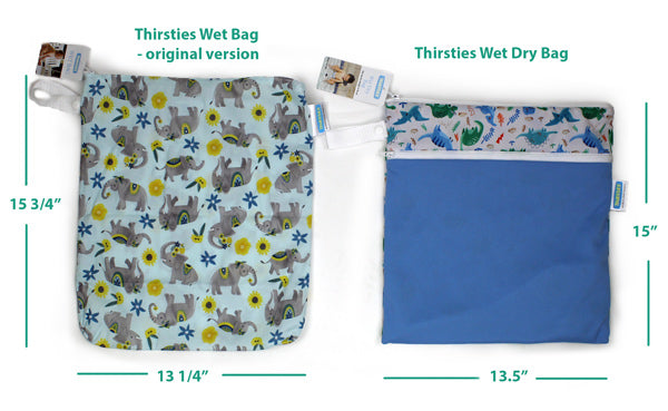 compare wet dry bag
