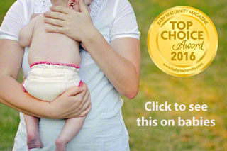 award winning natural diaper