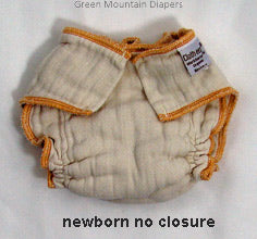 newborn no closure