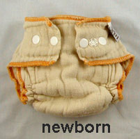 newborn snap diaper