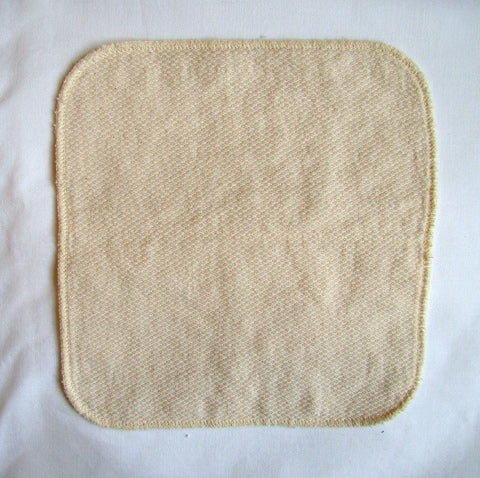 2 layer cotton birdseye baby wipes