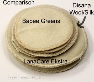 compare wool nursing pads