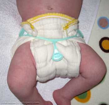 yellow edge diaper snappi