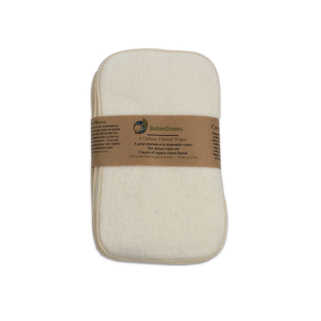 Babee Greens organic cotton baby wipes