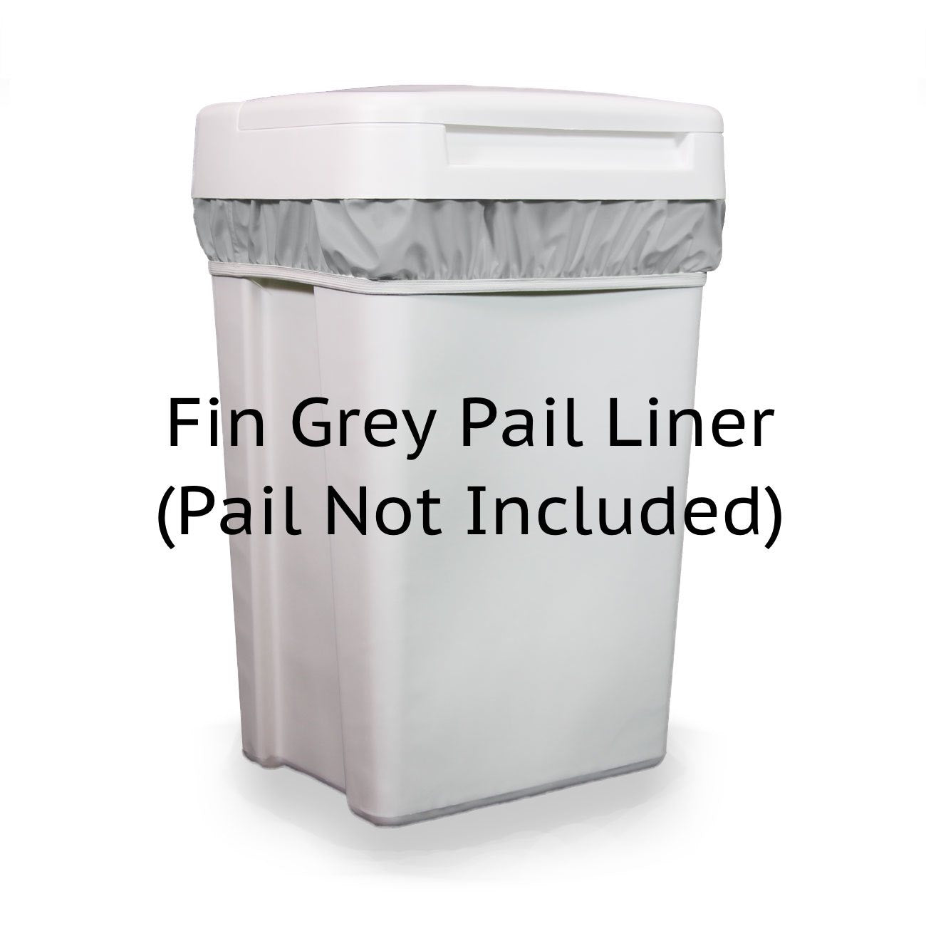 Thirsties Pail Liner Fin Grey