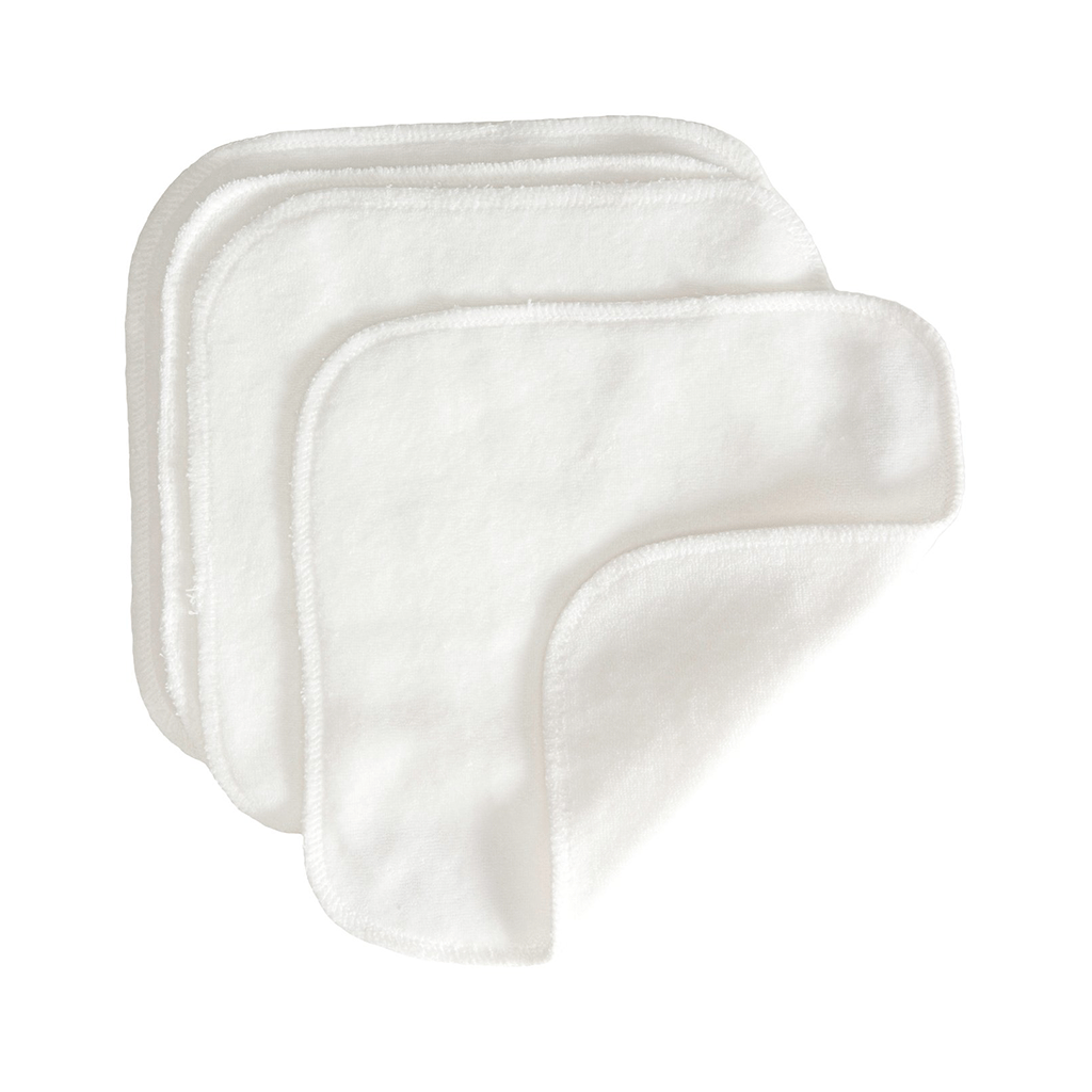 GroVia Cloth Wipes White
