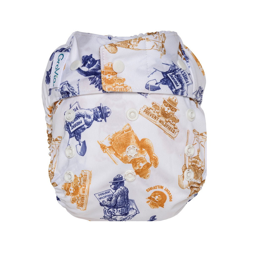 GroVia Shell Diaper Cover Snap
