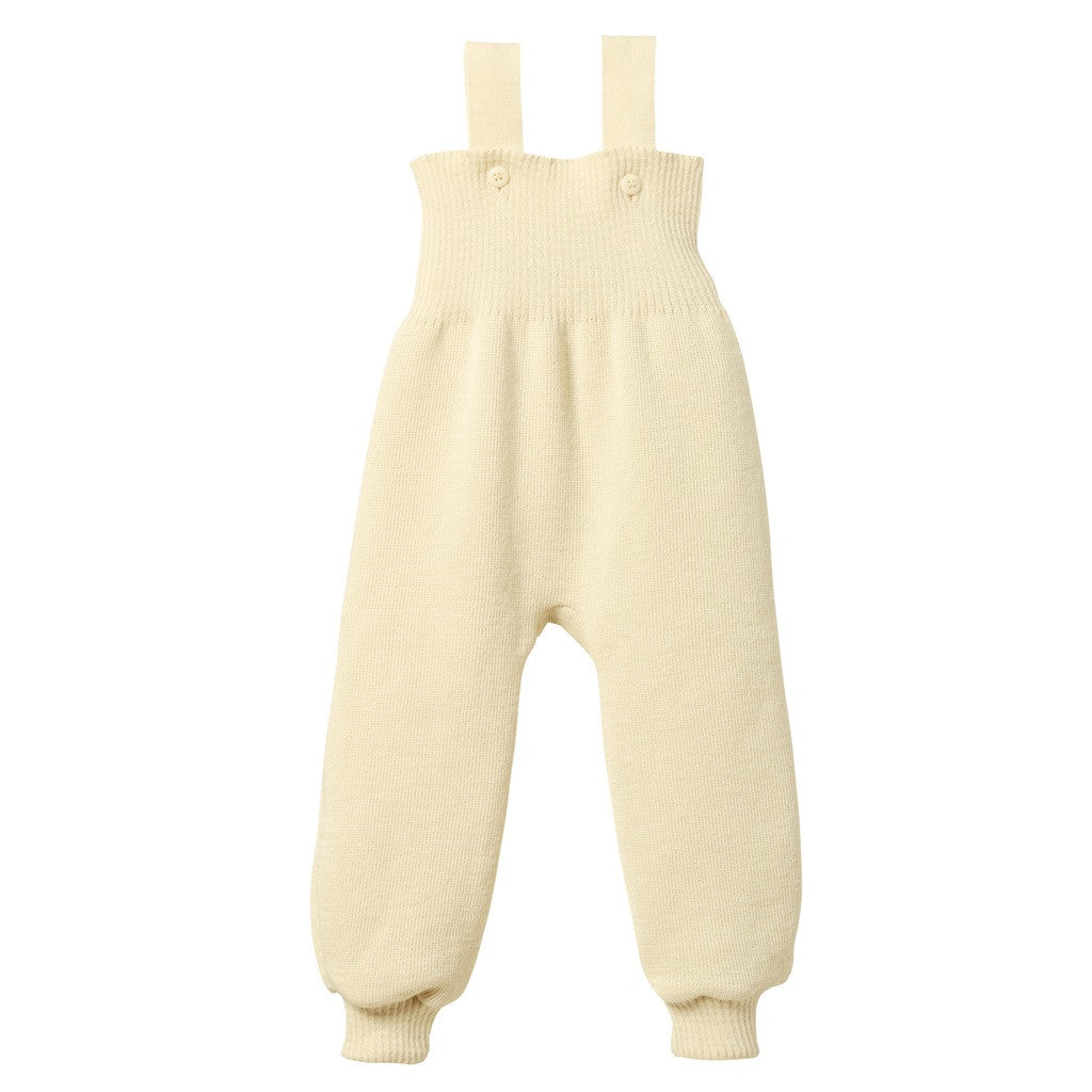 How to master knitting overalls for a newborn 70