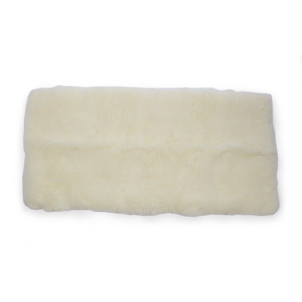 Organic cotton and wool Snugglewool fleece pad
