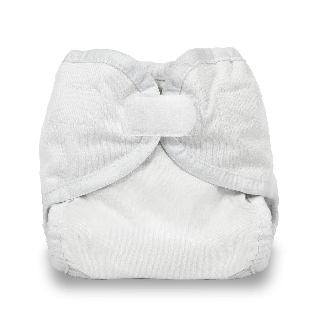 Thirsties Diaper Cover Hook and Loop preemie white