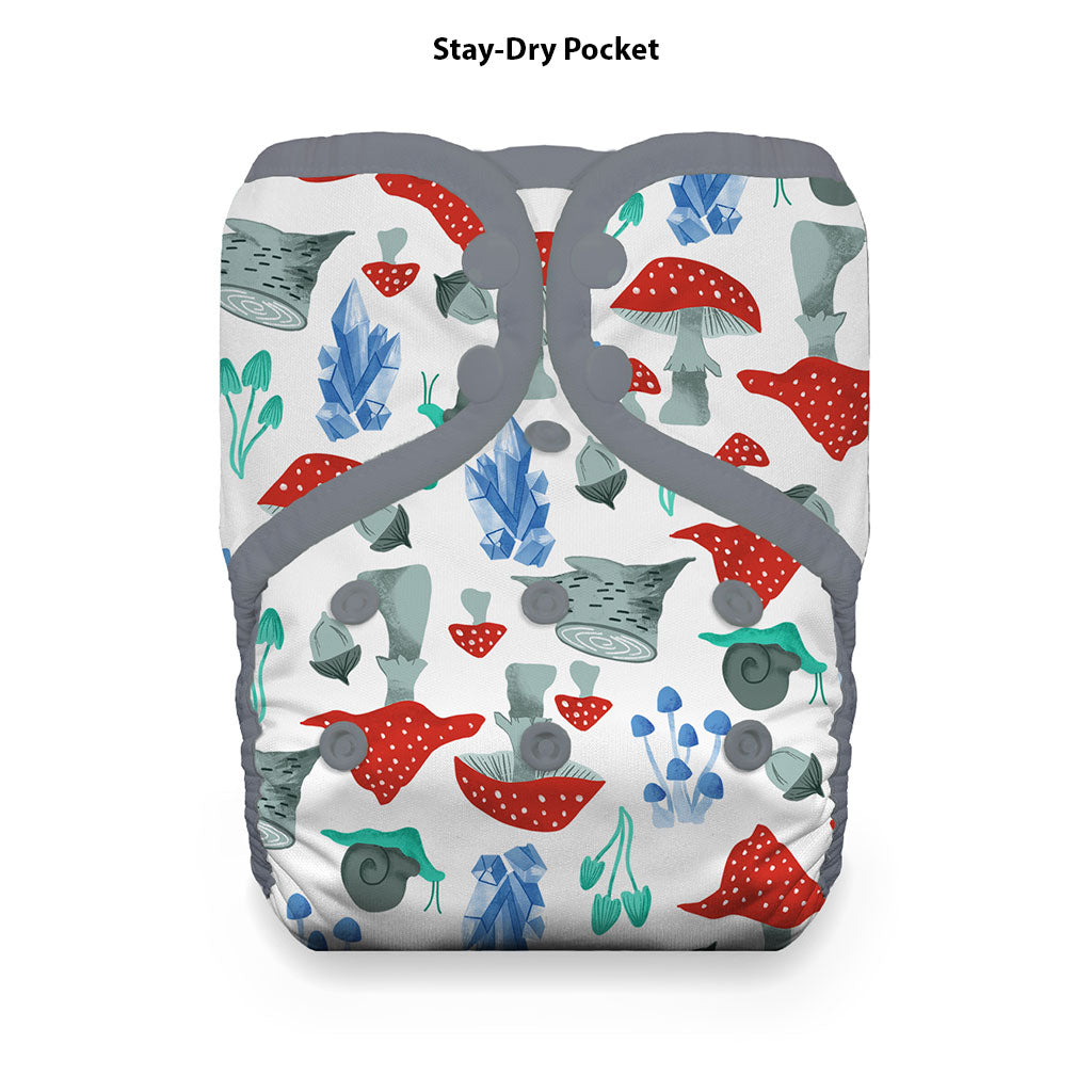 Pocket Diaper Stay Dry Forest Frolic