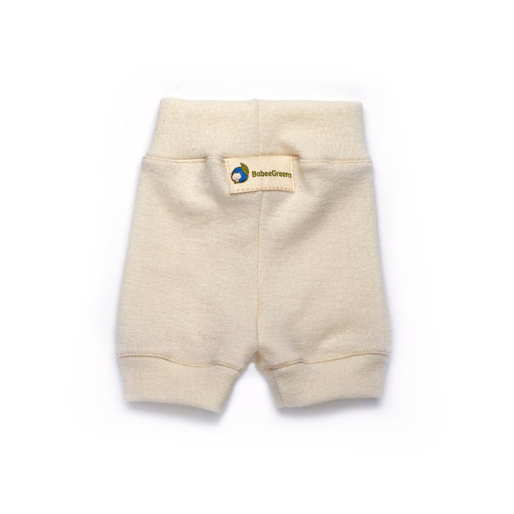 Babee Greens Wool Shorts