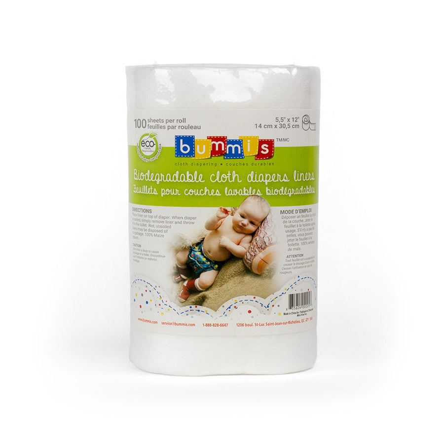 Bummis Biodegradable Liners (corn starch disposable liners)
