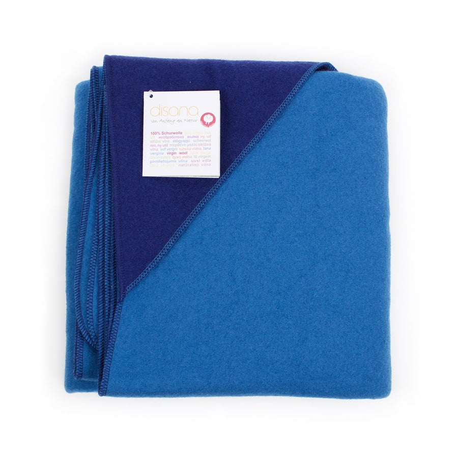 Disana Boiled Wool Blanket Big Blue