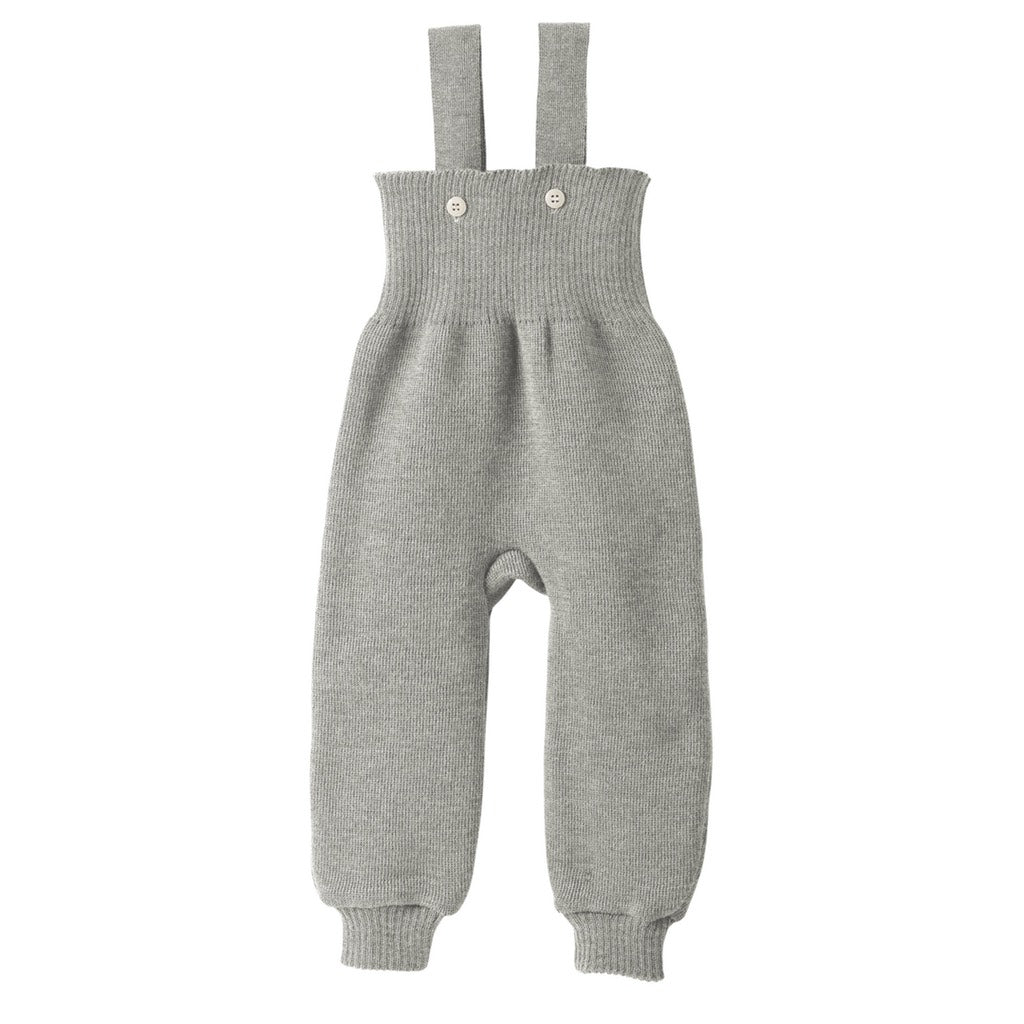 How to master knitting overalls for a newborn 19