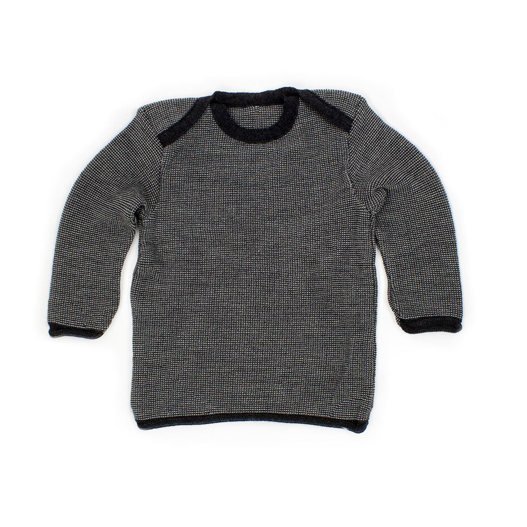 Disana melange pullover jumper sweater anthracite