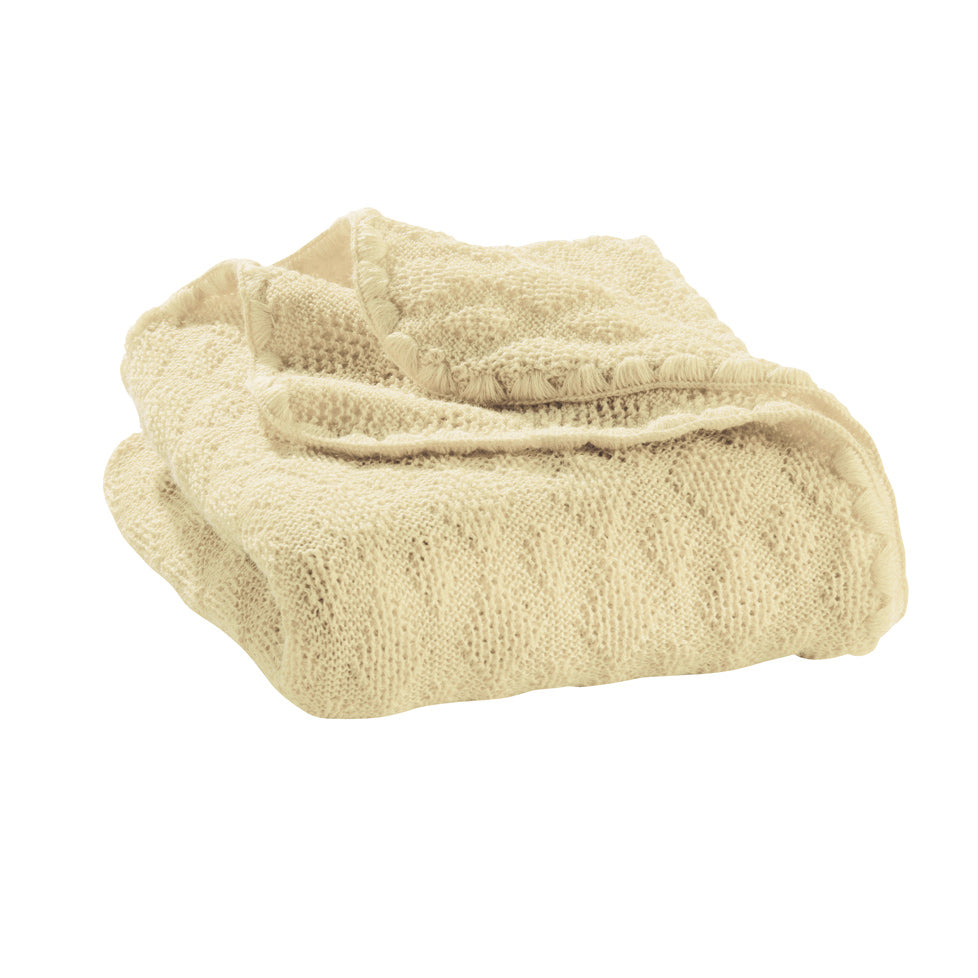 Disana knit woolen baby heirloom blanket
