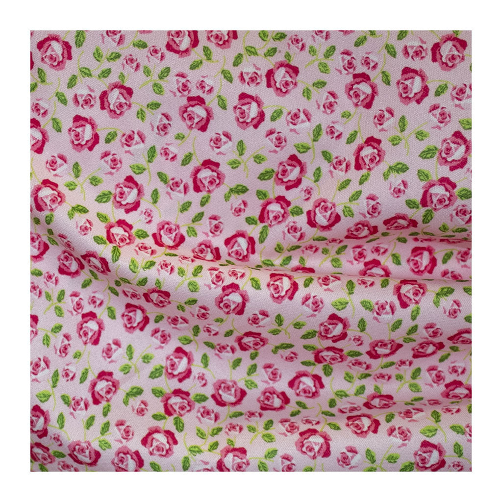 Diaper Cover Fabric - Roses Print
