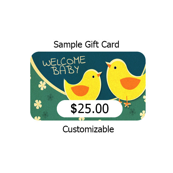 gift certificate for cloth diapers