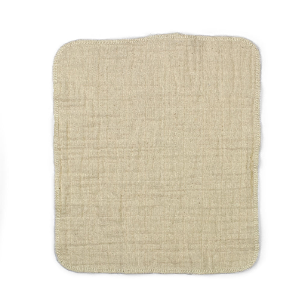 Cloth-eez muslin baby wipes organic