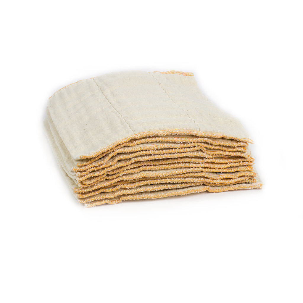 Cloth-eez unbleached newborn diapers