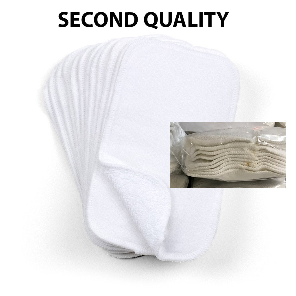 Cloth-eez Two-Sided Wipes - SECOND QUALITY