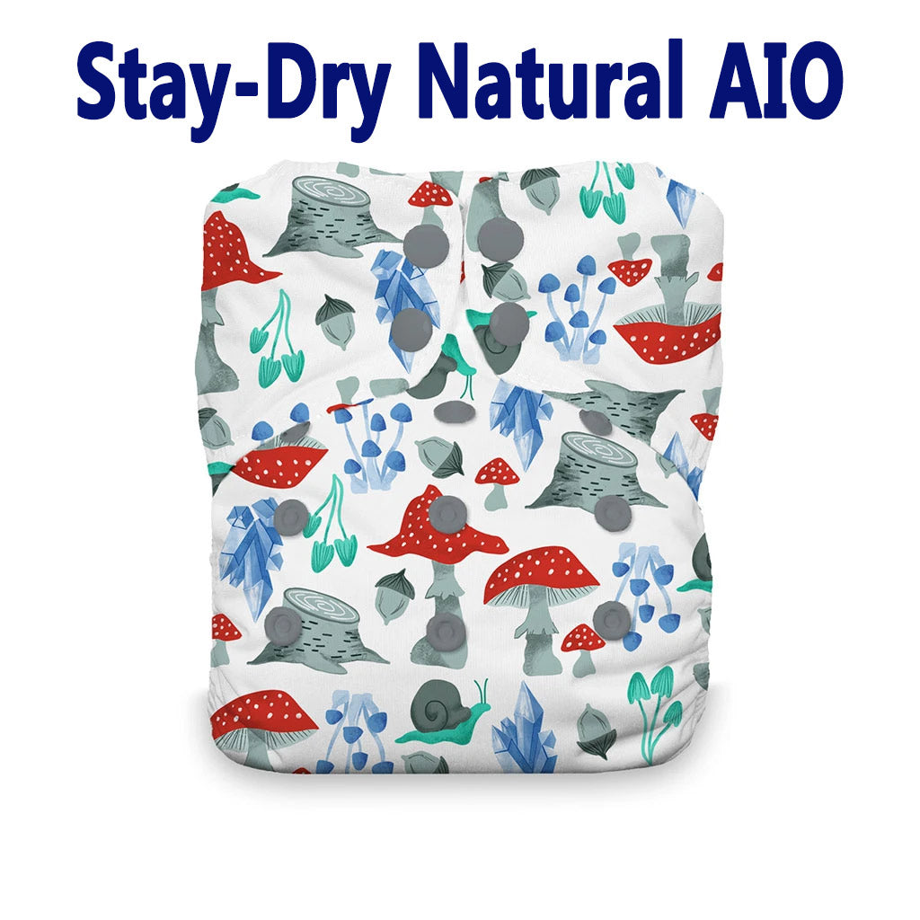 Thirsties Stay dry natural all in one forest frolic