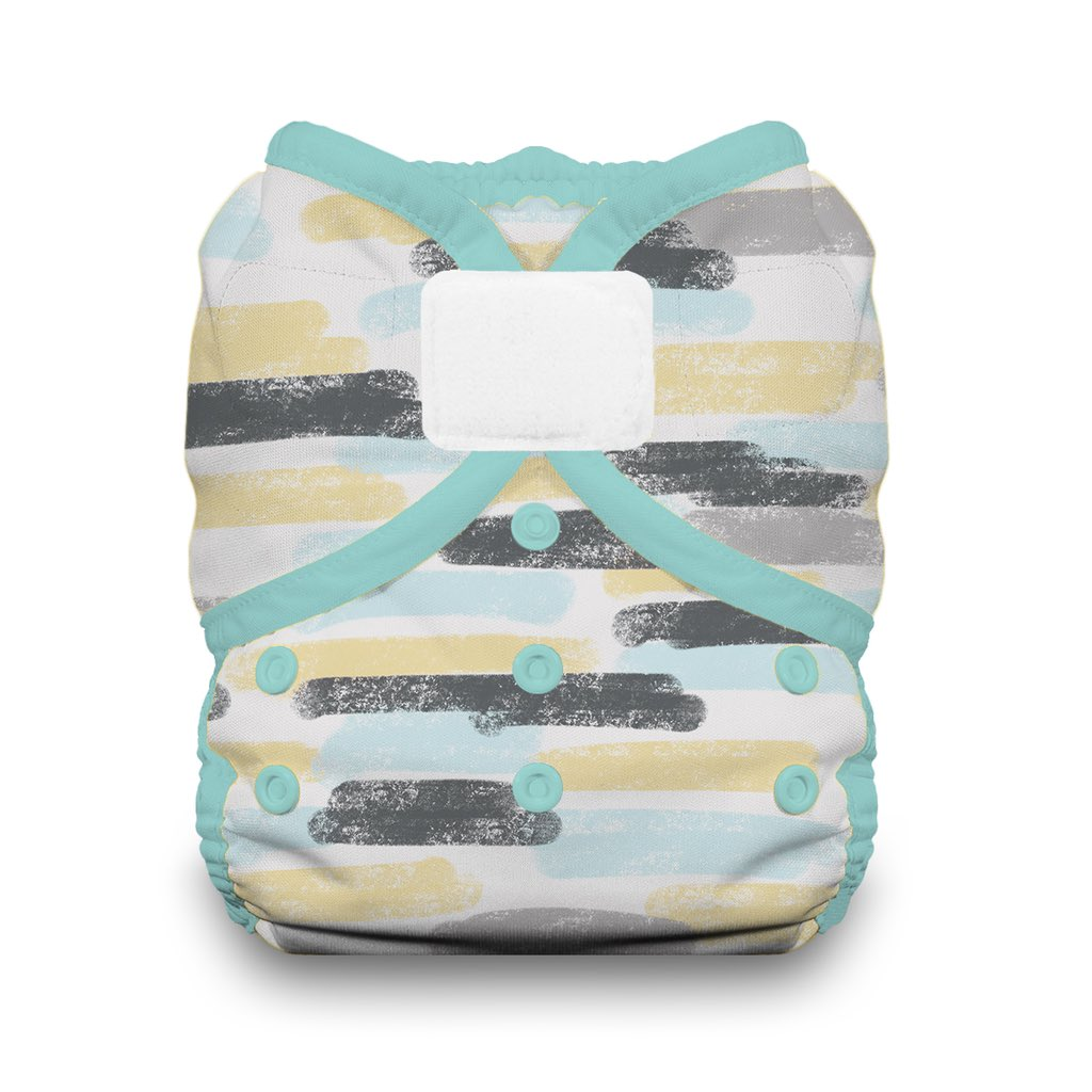 Thirsties Duo Wrap hook and loop diaper cover Dreamscape