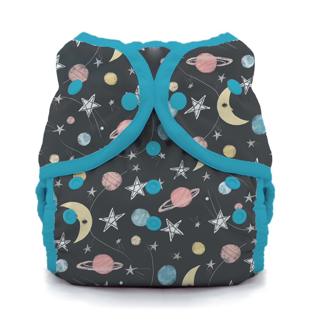 Thirsties Duo Wrap Snap Diaper Cover Stargazer