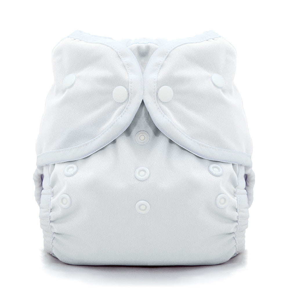 Thirsties Duo Wrap Snap Diaper Cover White