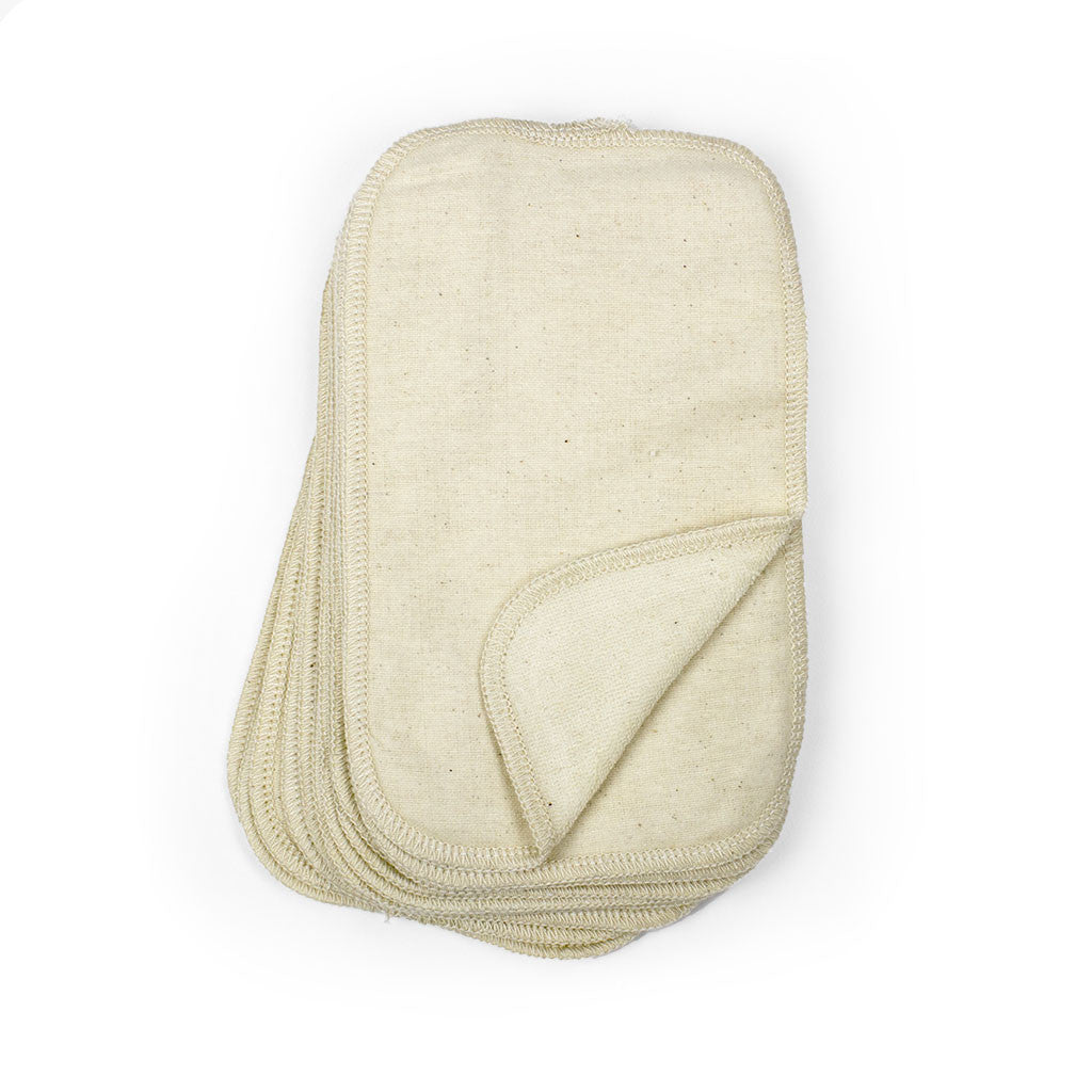 Two-Sided Wipes - Unbleached