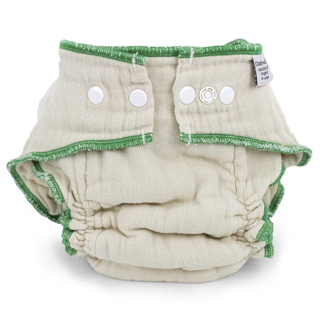 cloth eez workhorse fitted diapers organic cotton