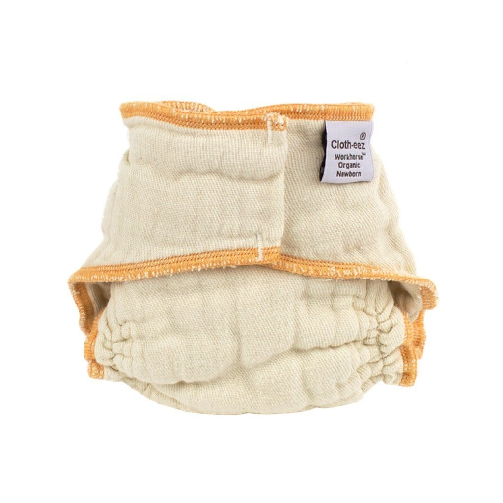 Cloth-eez Workhorse Fitted Diaper Made Of Organic Cotton - No Closure