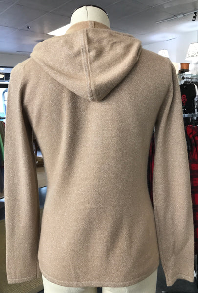 Camel Cashmere Hoodie